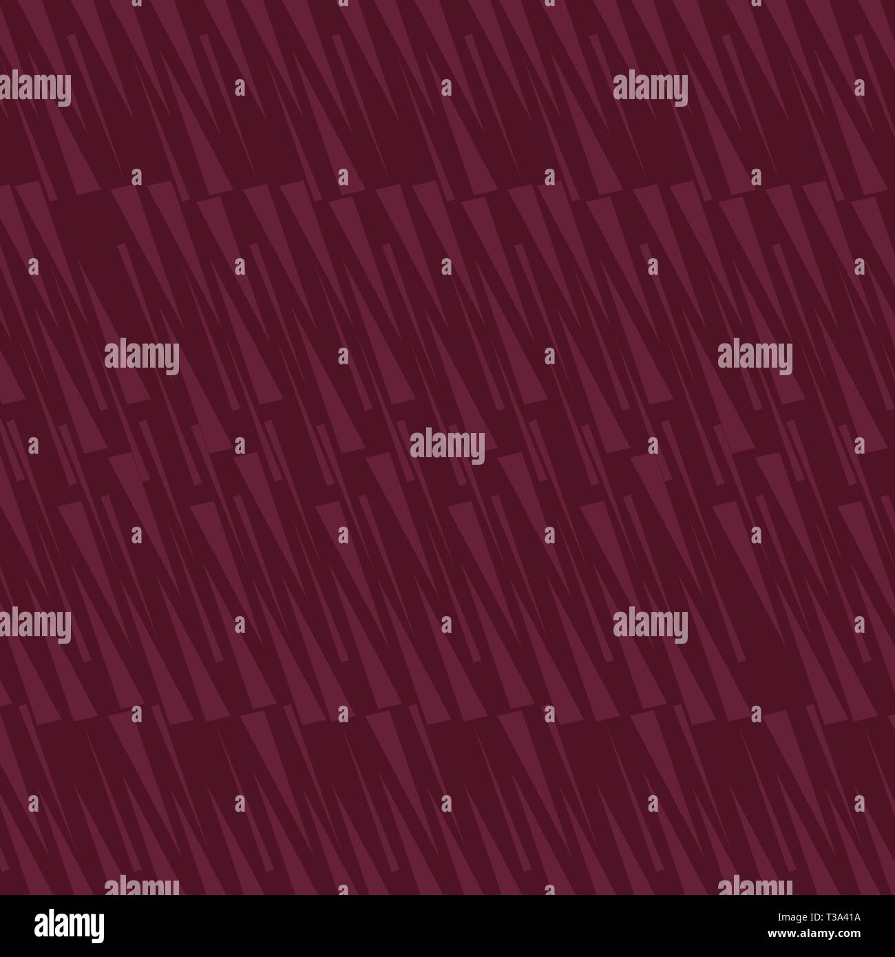 Seamless Elongated Isosceles Triangle Maroon Two Tone in Abstract Pattern Business Empty template for Layout for invitation greeting card promotion po - Stock Image