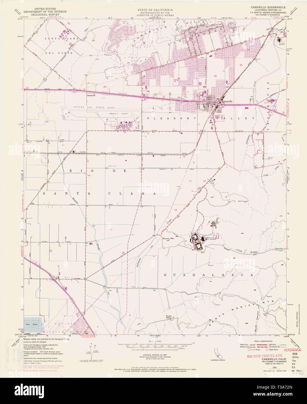 USGS TOPO Map California CA Camarillo 302575 1950 24000 ... Map Camarillo Ca on conejo valley ca map, hollywood beach ca map, las vegas ca map, camarillo fire 2013, chula vista ca map, livermore ca map, fort worth ca map, canyon country ca map, foothill ranch ca map, forestville ca map, carson ca map, culver city ca map, rocklin ca map, carlsbad ca map, knoxville ca map, chicago ca map, solano beach ca map, camarillo mapquest, watsonville ca map, carpinteria ca map,