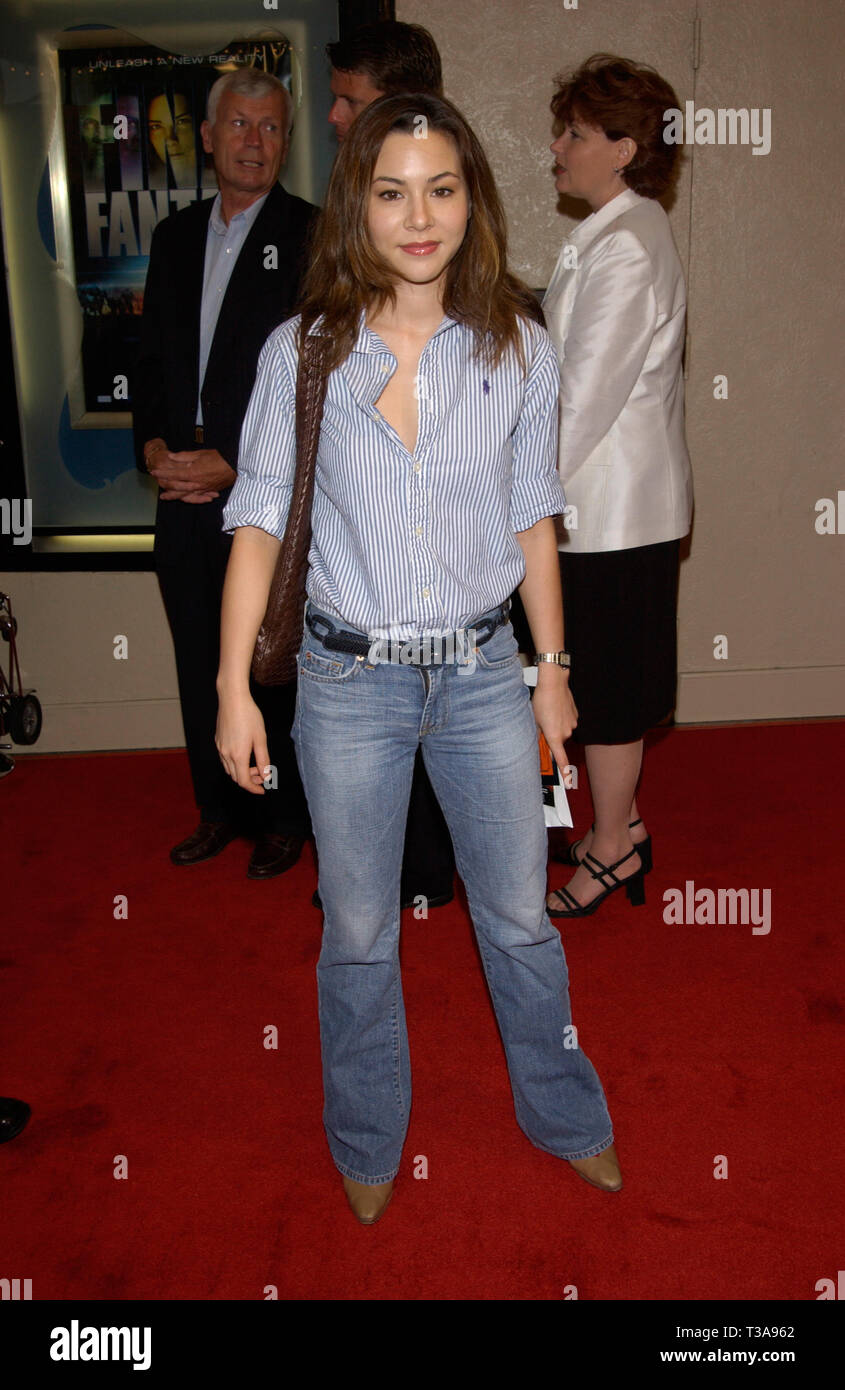 LOS ANGELES, CA. July 02, 2001: Actress/model CHINA CHOW at the world premiere, in Los Angeles, of Final Fantasy: The Spirits Within. © Paul Smith/Featureflash - Stock Image
