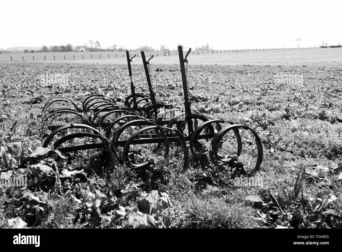Farming tools black and white stock photos images alamy