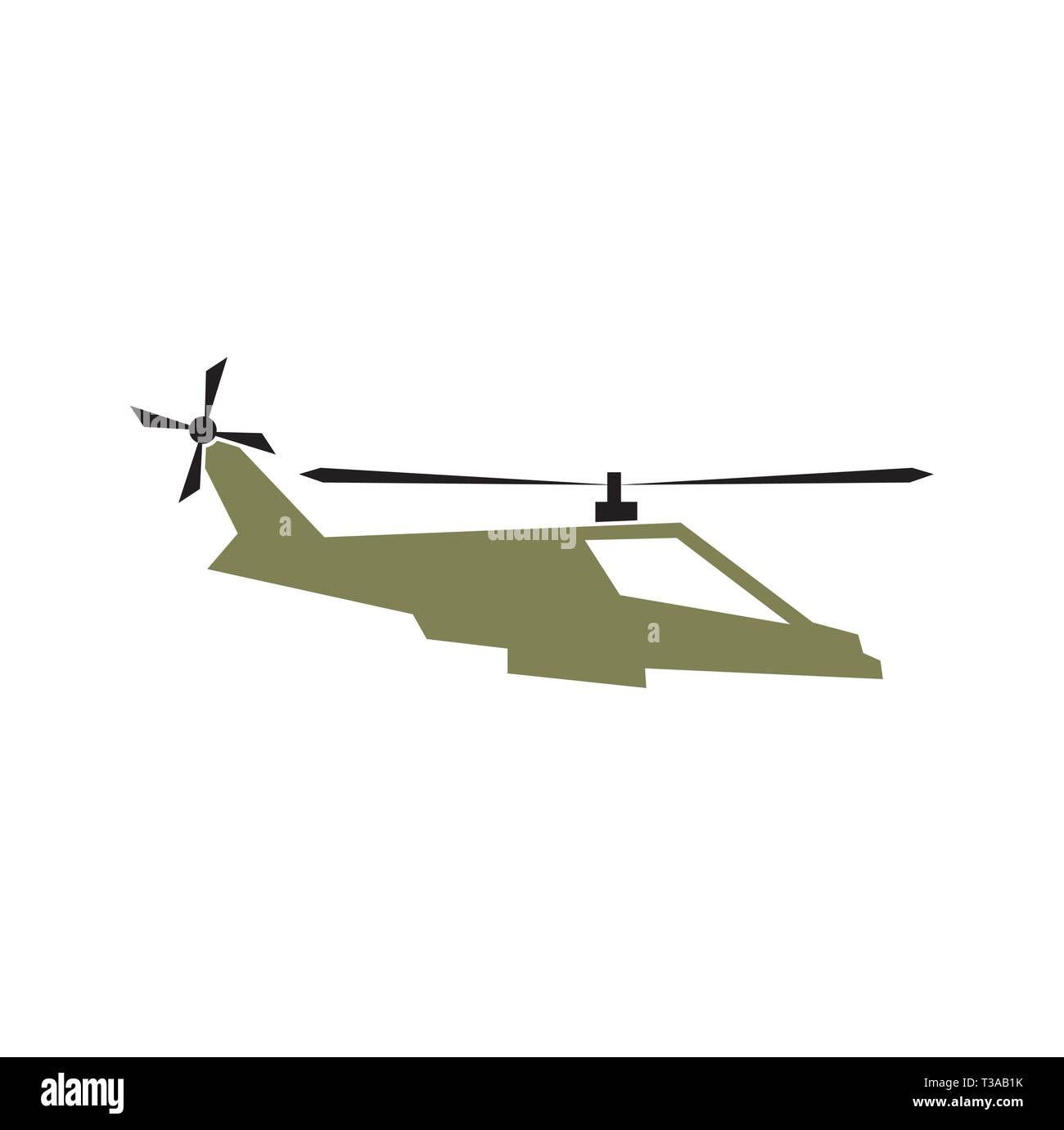 Military vehicle icon on background for graphic and web