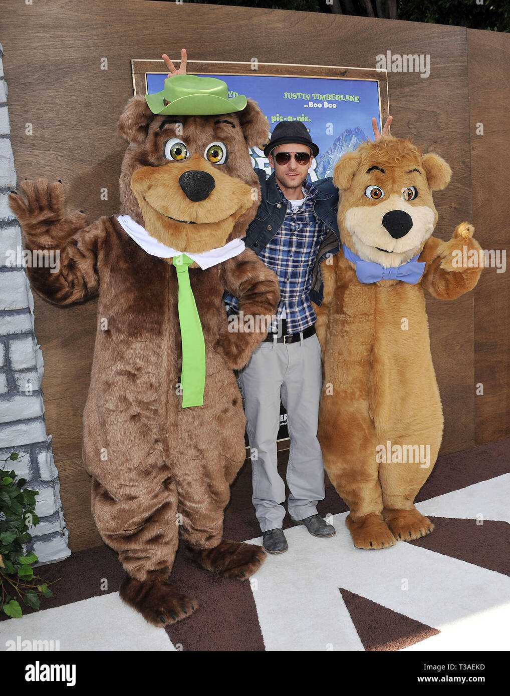 Justin Timberlake Yogi Bear Premiere At The Westwood Village Theatre In Los Angeles A Justin Timberlake