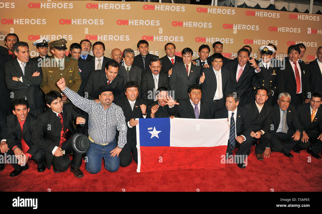 Chilean Miners Cnn Heroes High Resolution Stock Photography And Images Alamy