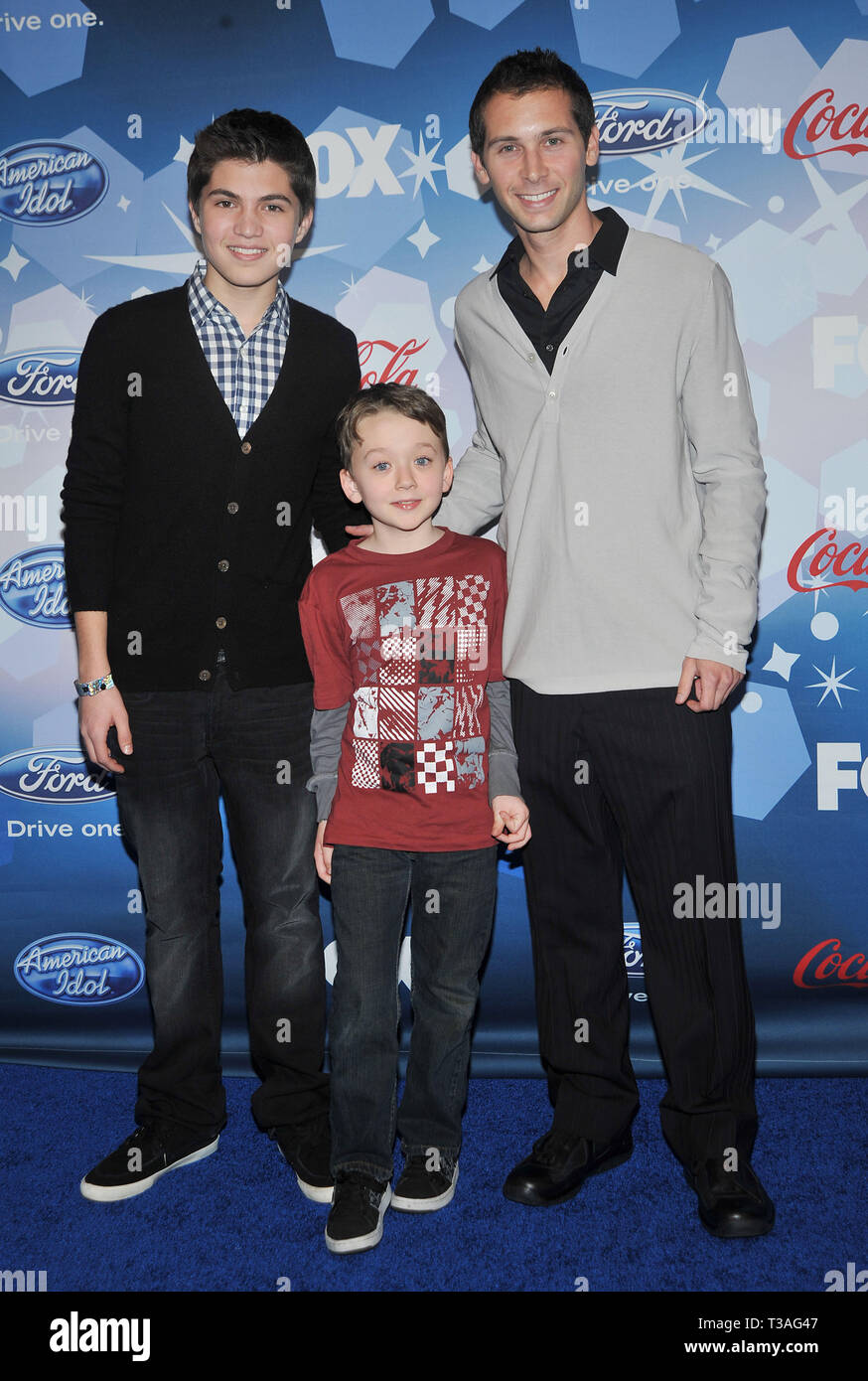 Matthew Levy Benjamin Stockham Justin Berfield 20 American Idol Top 12 Party At Industry Club In Los Angeles Matthew Levy Benjamin Stockham Justin Berfield 20 Event In Hollywood Life California Red