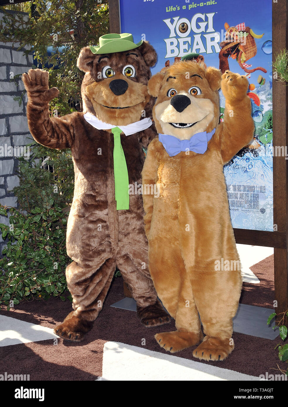 Yogi Bear And Booboo Yogi Bear Premiere At The Westwood Village Theatre In Los Angeles Yogi