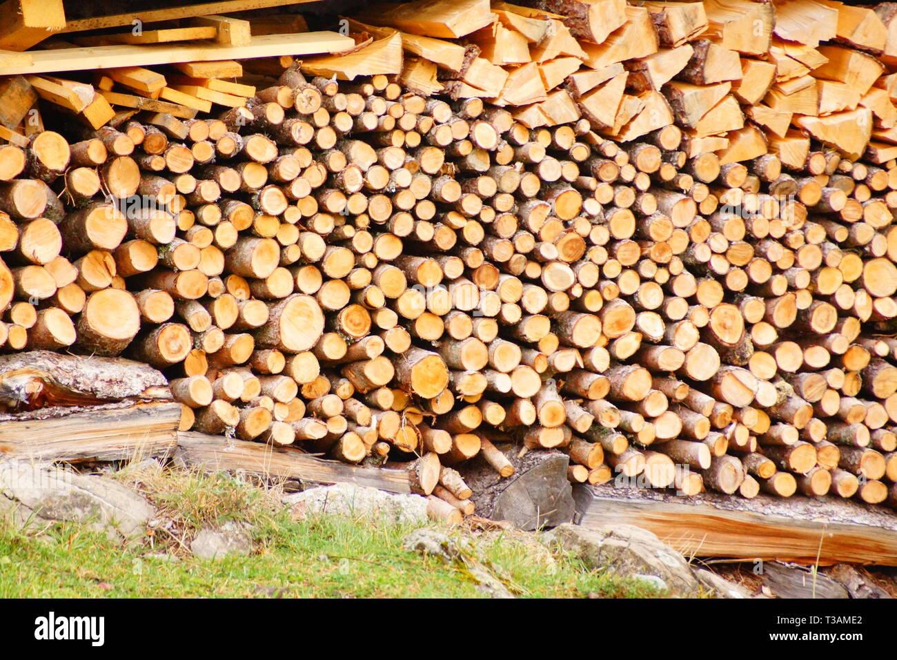 Neatness of the Swiss - Stock Image