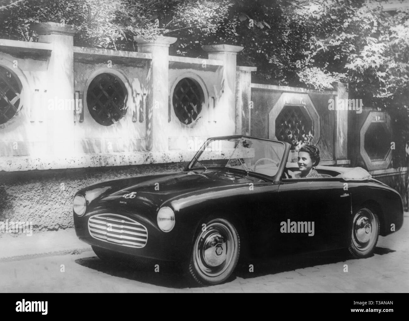 luxury car, 1949 - Stock Image