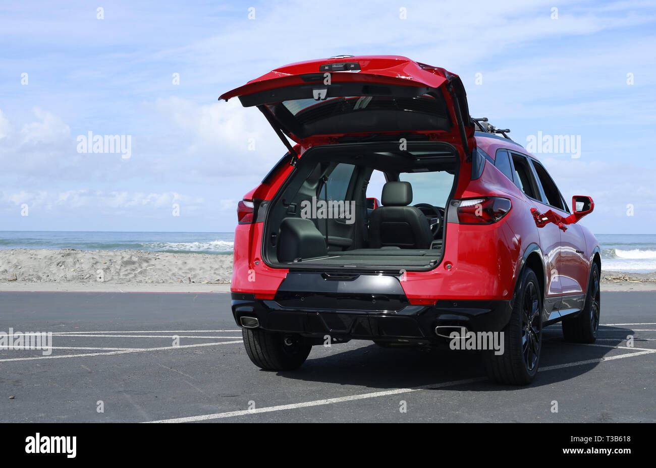 San Elijo State Beach Stock Photos & San Elijo State Beach