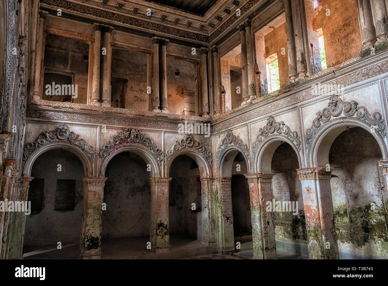 Ancient buildings of Panam City, Sonargaon, Narayanganj, Dhaka Division, Bangladesh - Stock Image