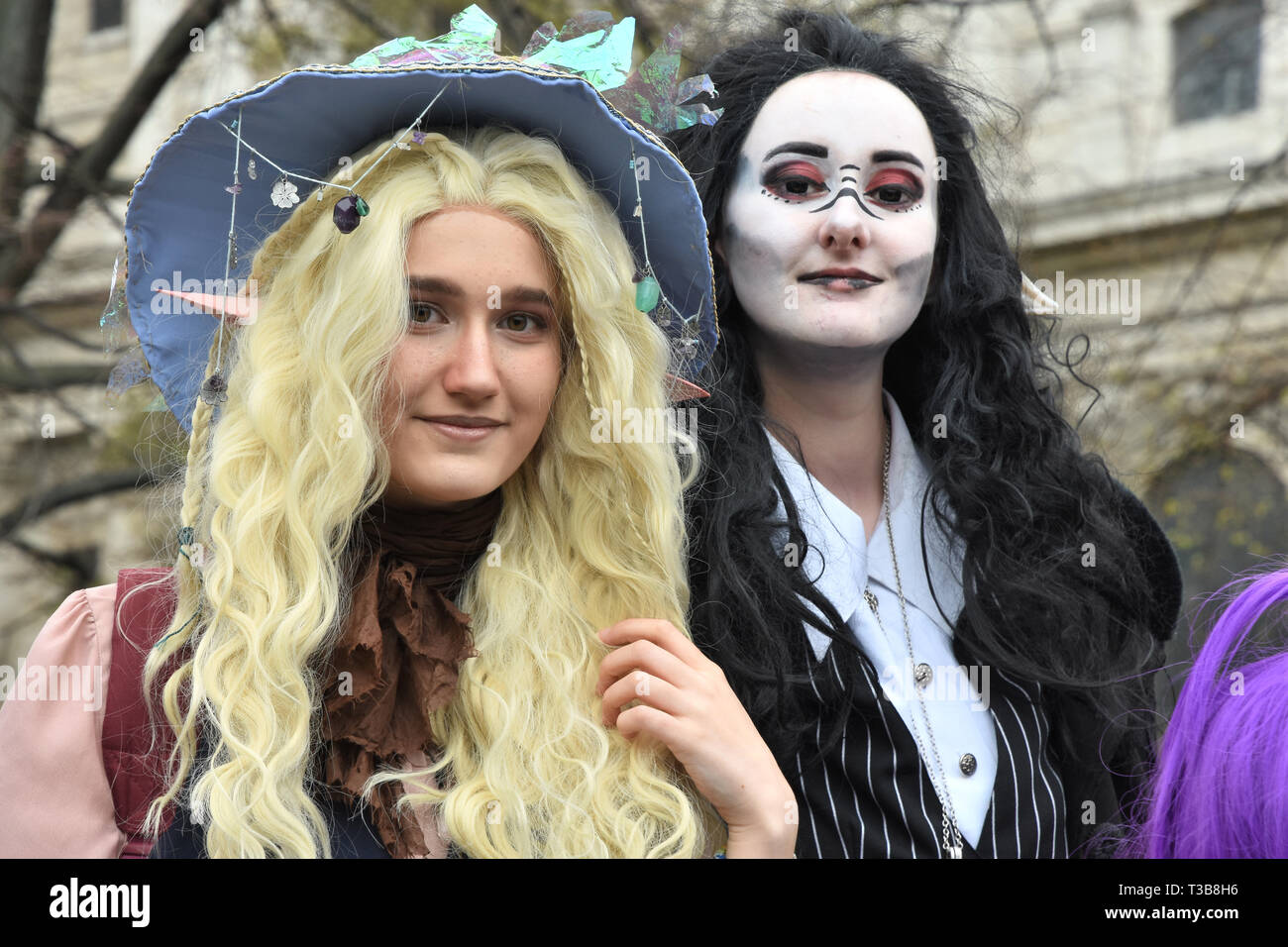 Taako and Kravitz, London Games Festival, St Paul's Cathedral, City of London, London. UK - Stock Image