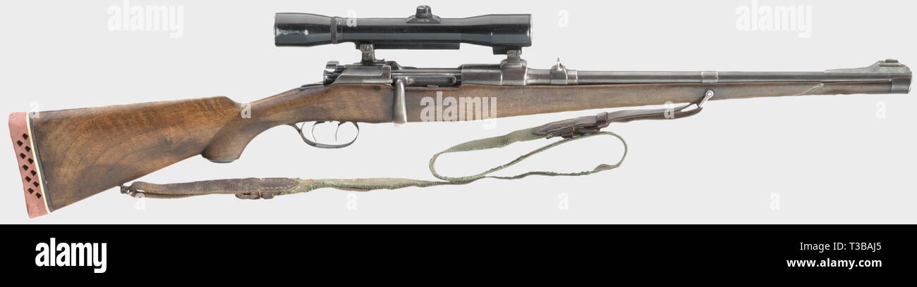 Civil long arms, modern systems, repeating full stock rifle