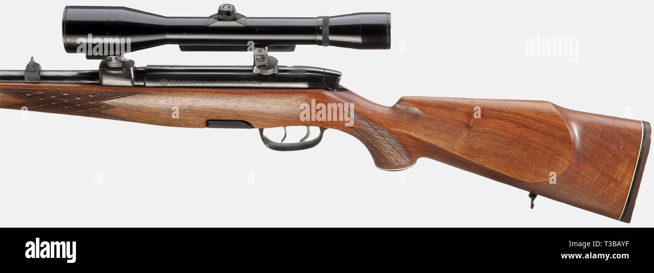LONG ARMS, MODERN HUNTING WEAPONS, repeating rifle Steyr-Mannlicher