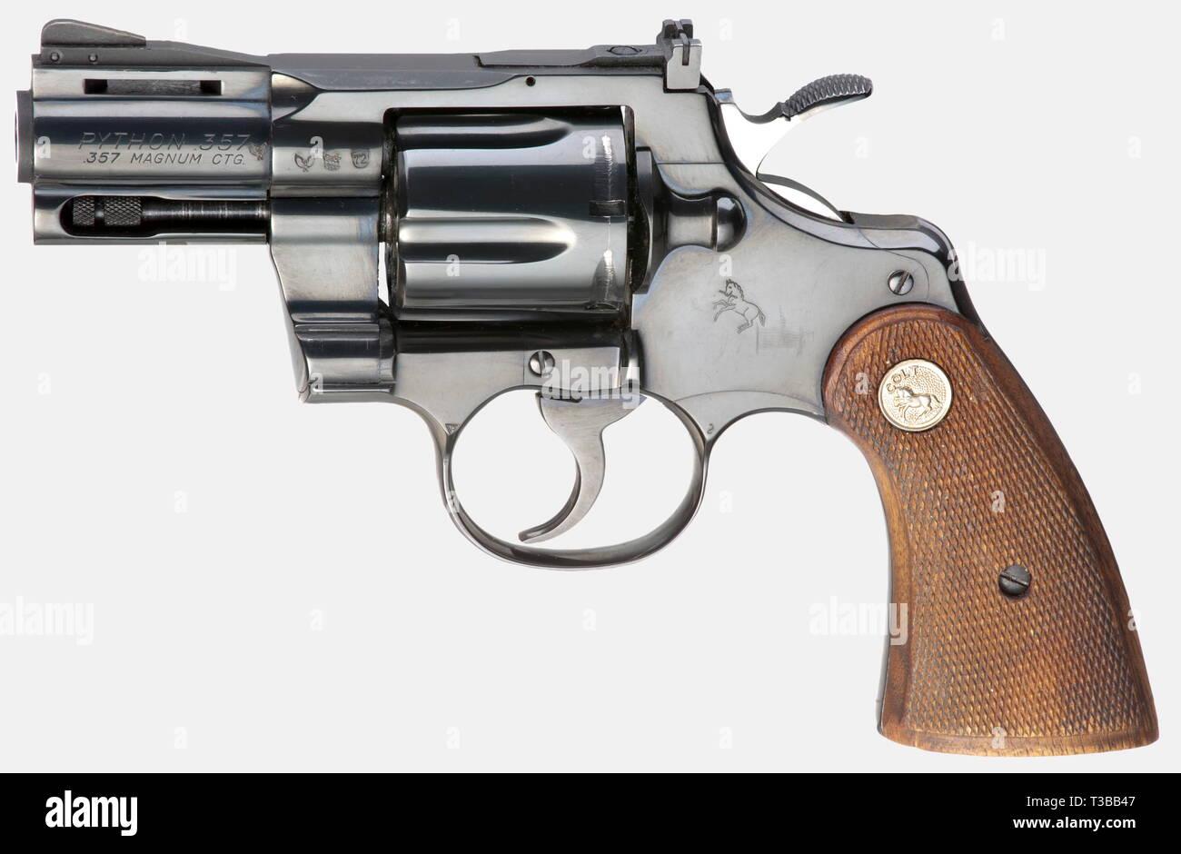Small arms, revolver, Colt Python Model 1955, caliber  357 Magnum
