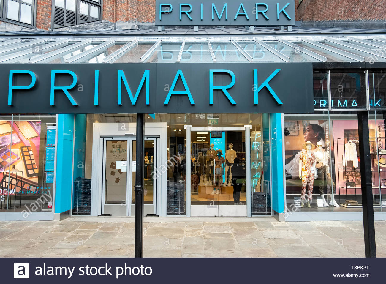 Primark Coppergate Shopping Centre York North Yorkshire England UK - Stock Image
