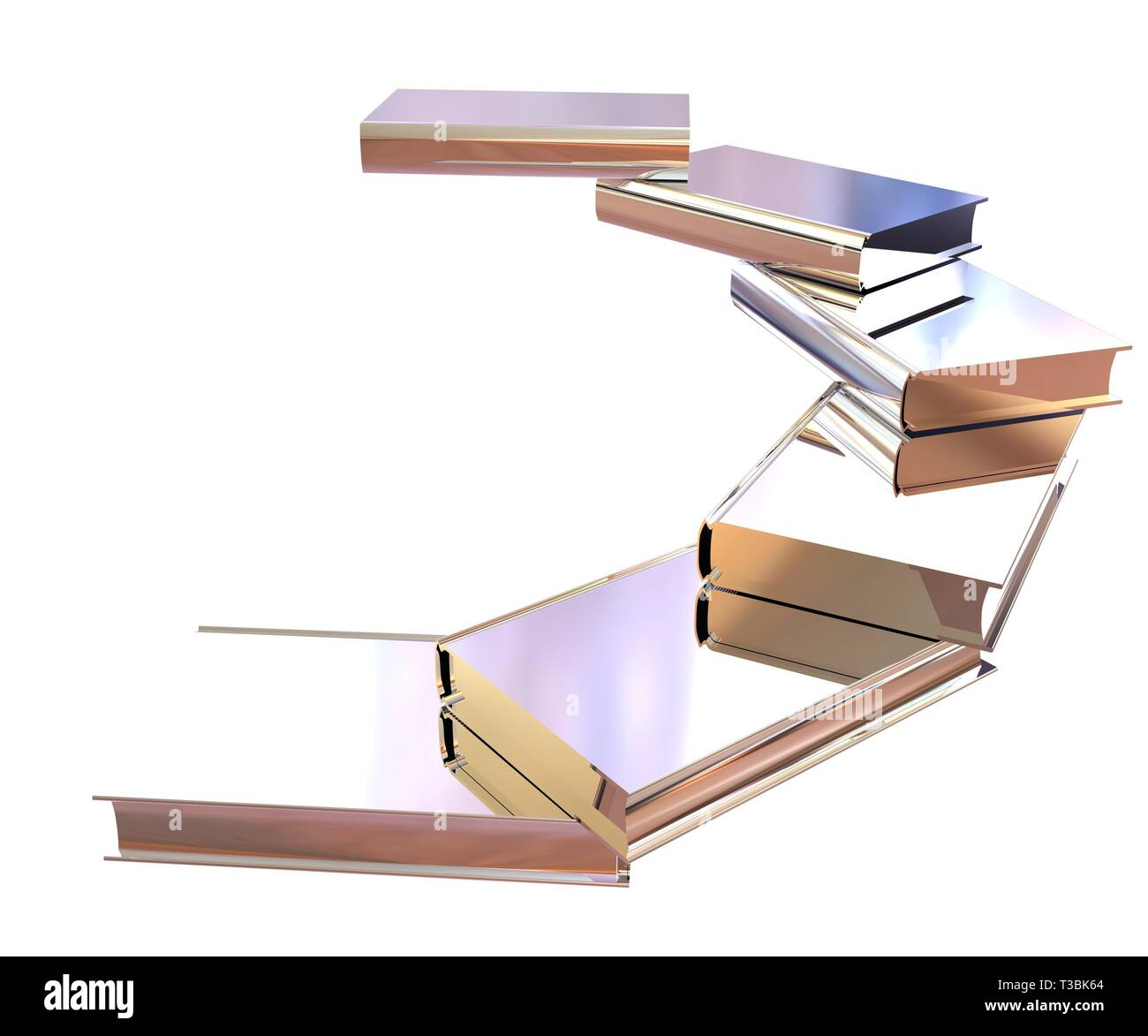 Chrome books icon. 3d illustration - Stock Image