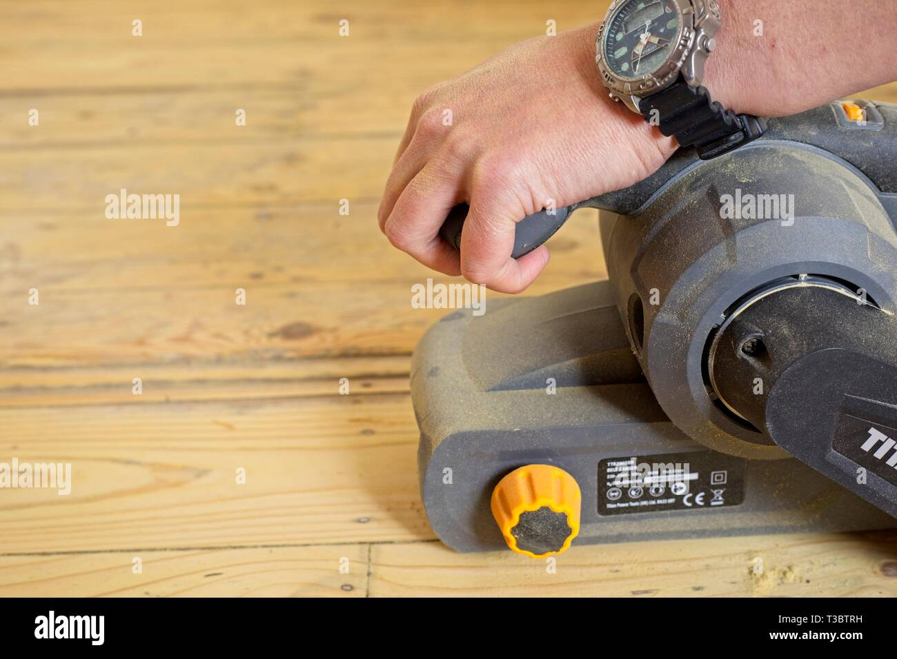 Floor Sanding Stock Photos Floor Sanding Stock Images Alamy