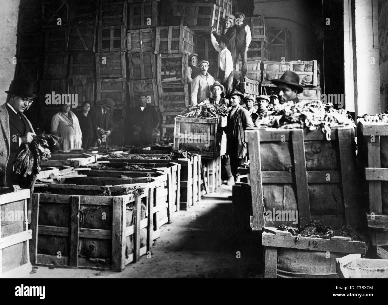 industry, 1920-1930 - Stock Image