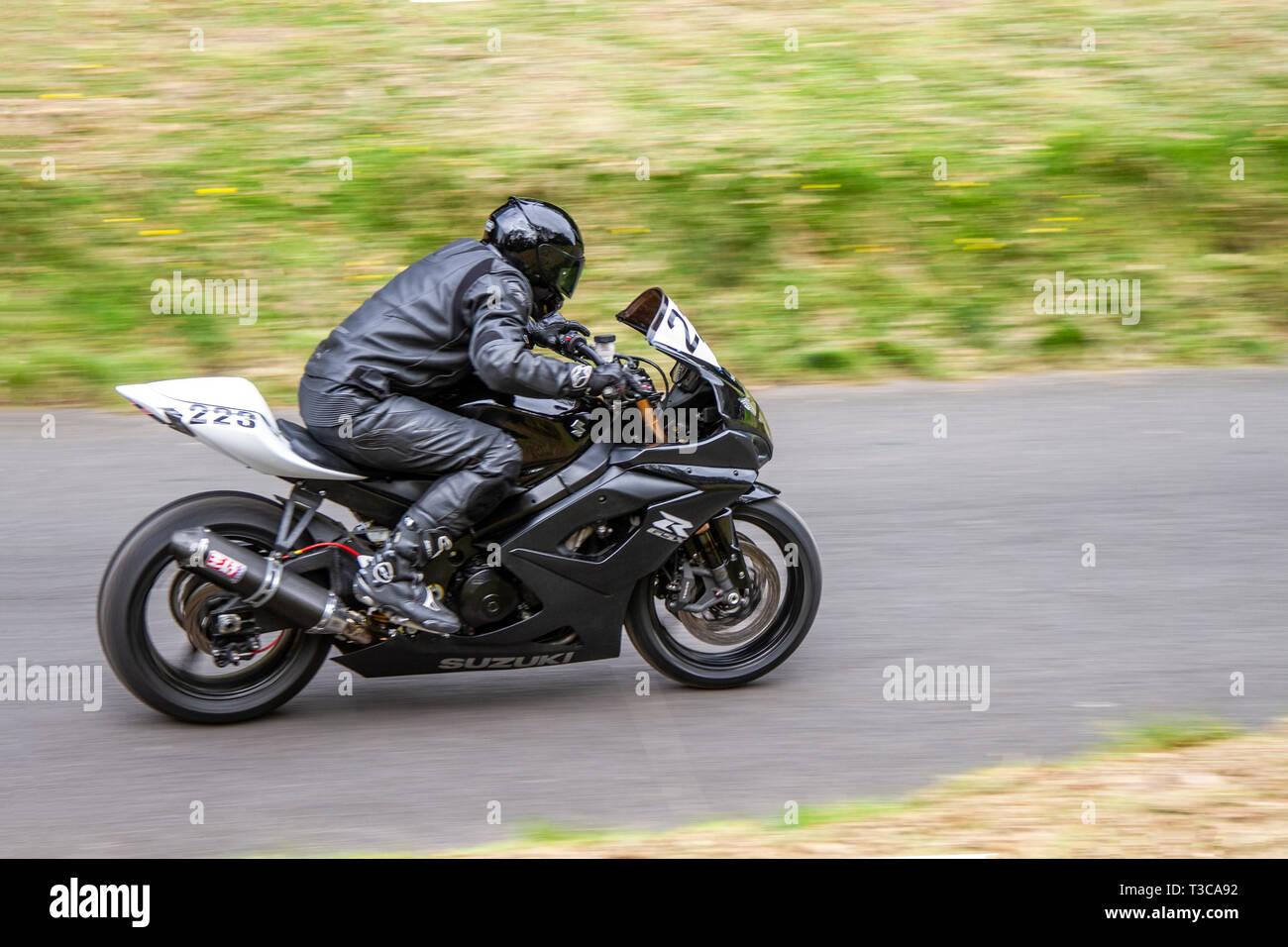 Suzuki Bike Uk Stock Photos & Suzuki Bike Uk Stock Images