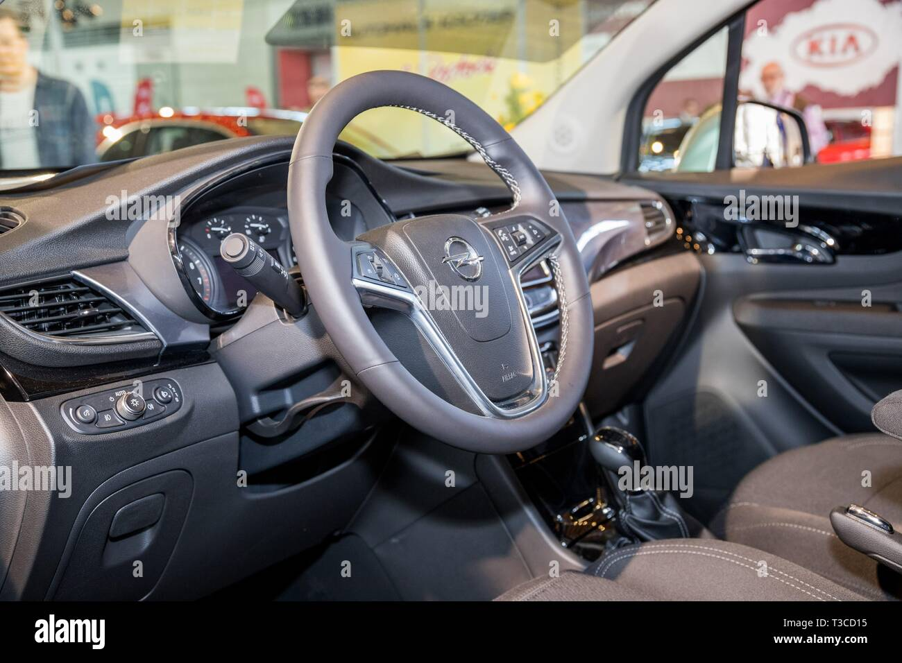Opel Mokka Interior High Resolution Stock Photography And Images Alamy