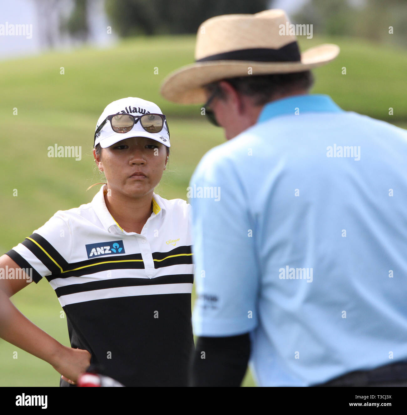 RANCHO MIRAGE, CALIFORNIA - MARCH 31, 2015 : David Leadbetter and