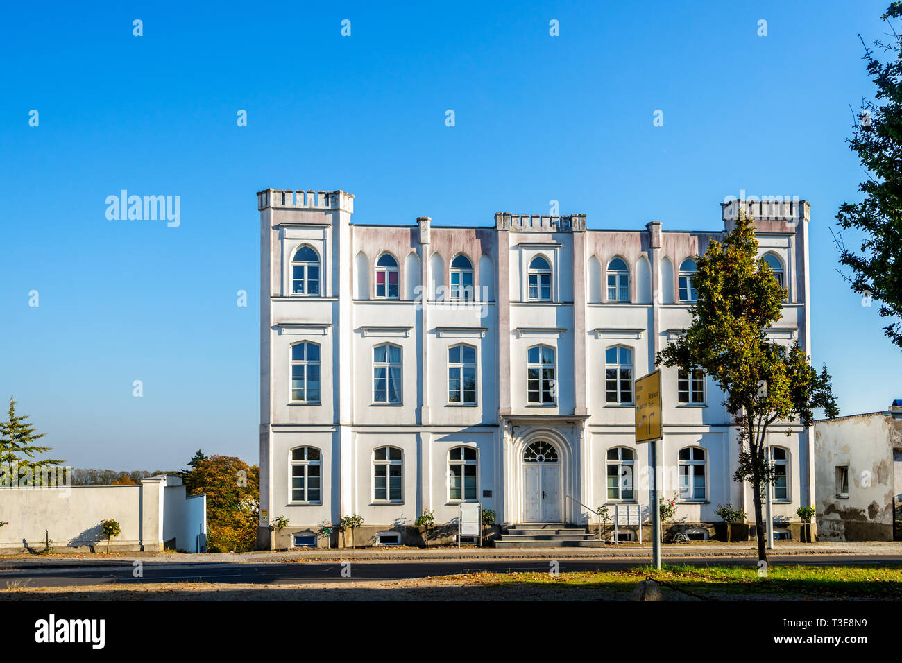 Putbus on Island Ruegen, Germany Stock Photo