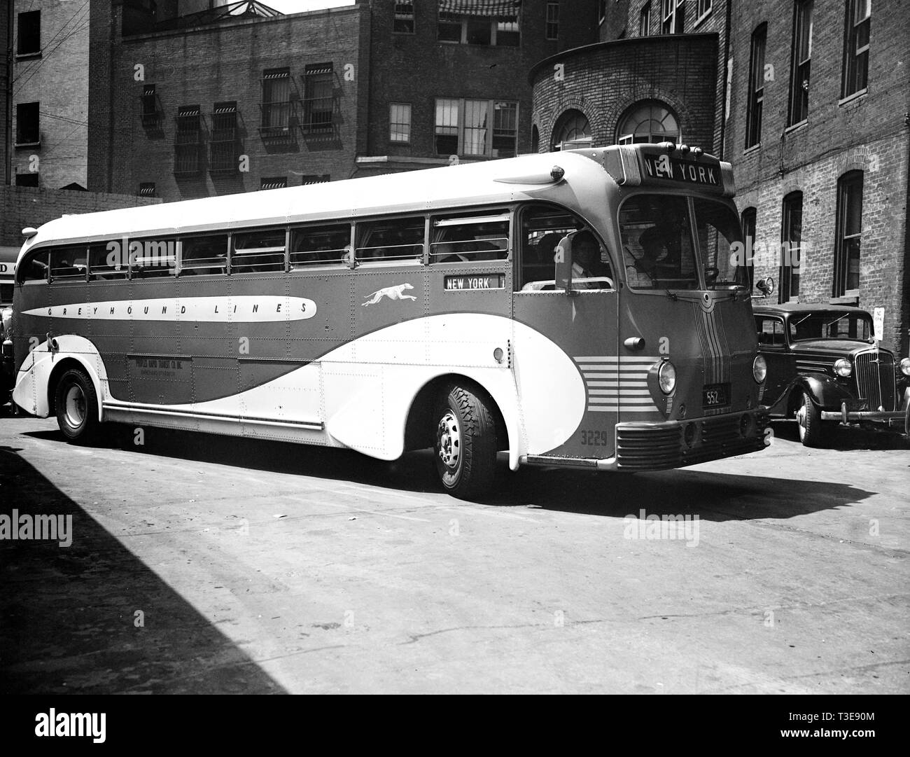 Bus Route Black and White Stock Photos & Images - Alamy