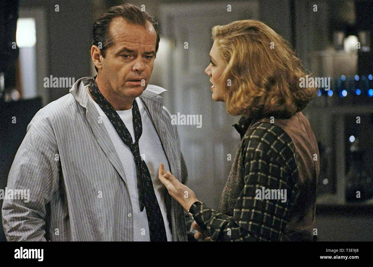 PRIZZI'S HONOR 1985 ABC MOTION PICTURES film with Kathleen Turner and Jack Nicholson - Stock Image