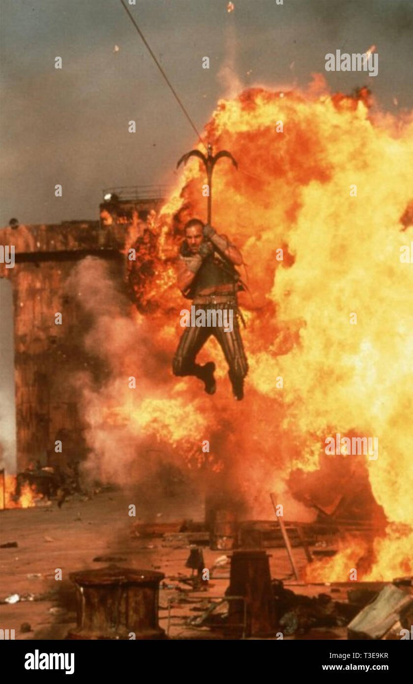WATERWORLD 1995 Universal Pictures film with Kevin Costner Stock Photo