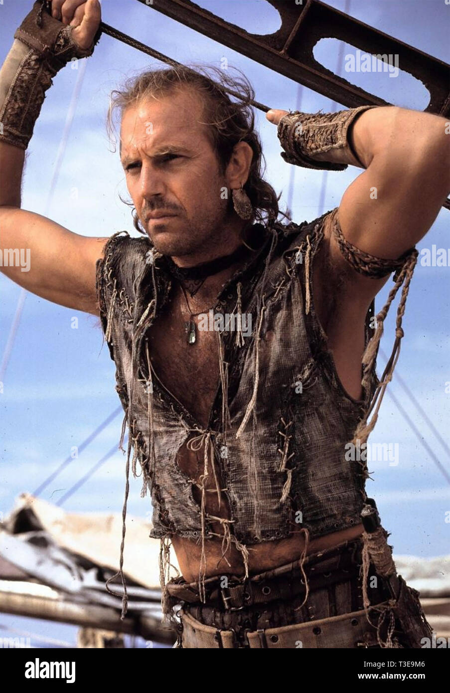 WATERWORLD 1995 Universal Pictures film with Kevin Costner - Stock Image