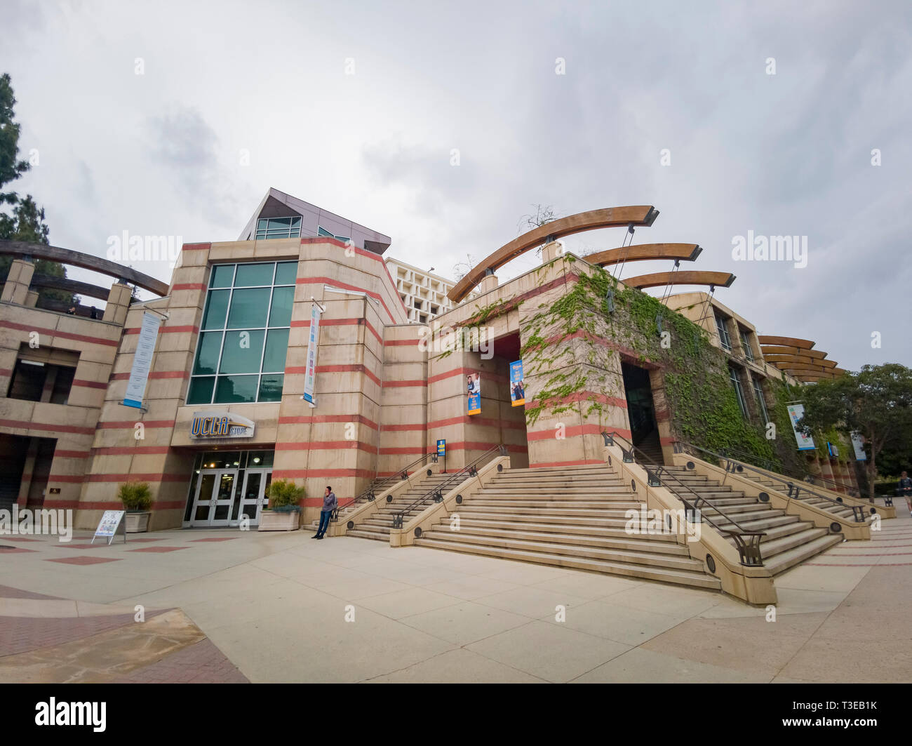 Los Angeles, APR 4: Book store of UCLA on APR 4, 2019 at Los Angeles, California - Stock Image