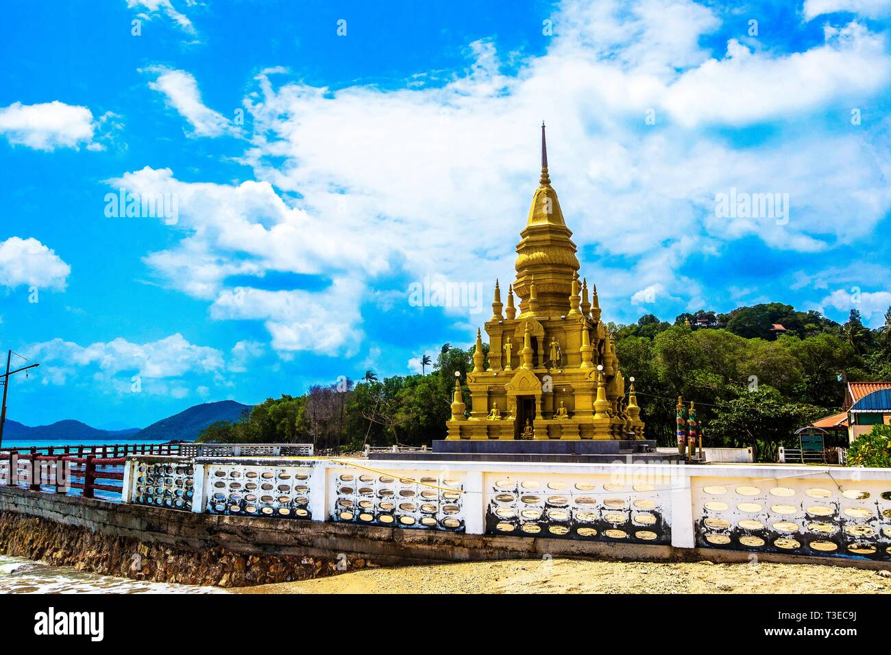 Chedi Sor Laem, Ko Samui, Thailand, Asia Stock Photo