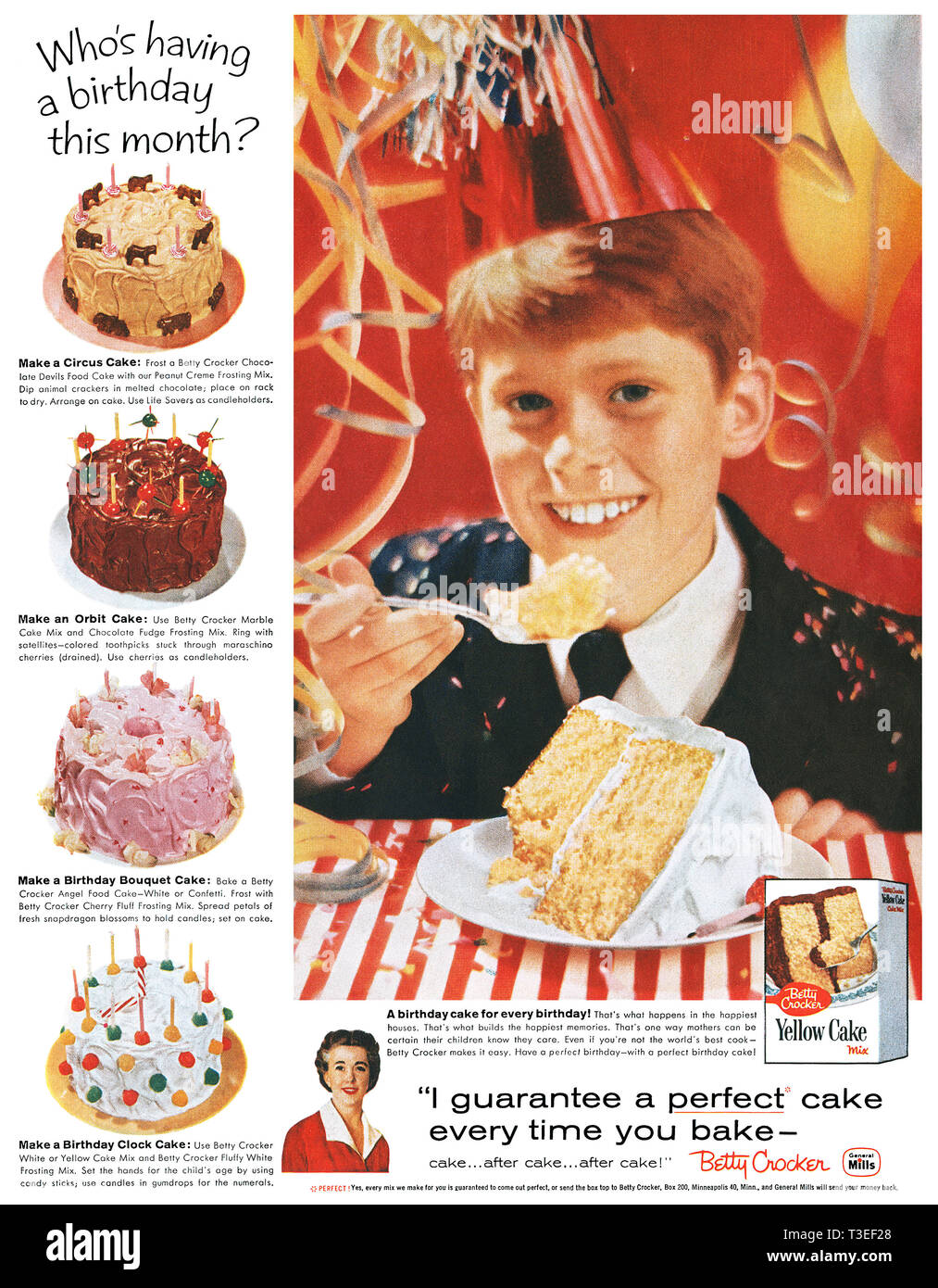 Image result for 1950s mary baker cakes