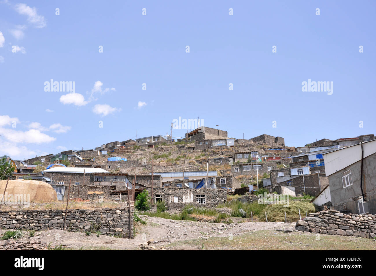 Azerbaijan, Khimalig village Stock Photo