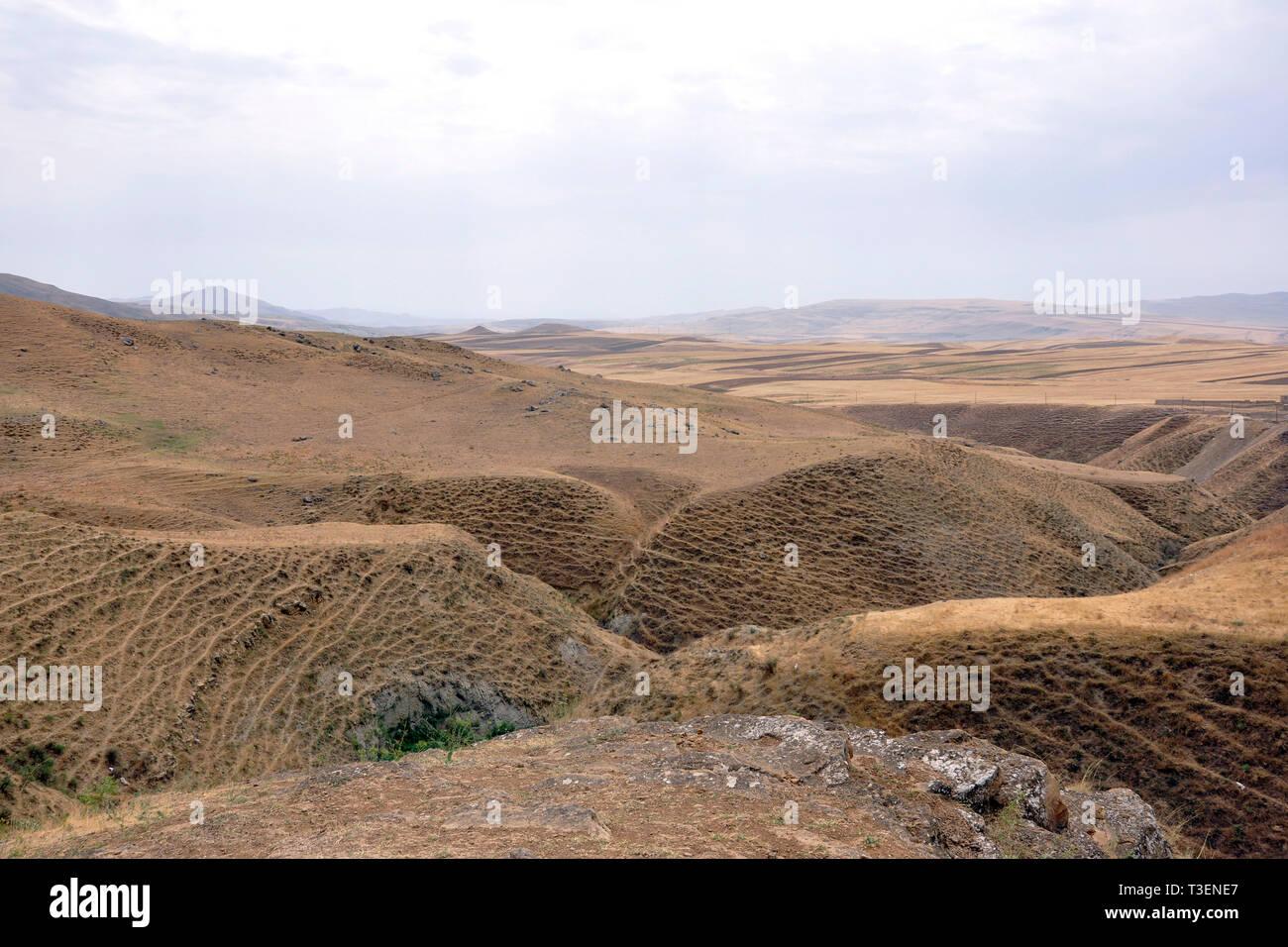 Azerbaijan, landscape Stock Photo