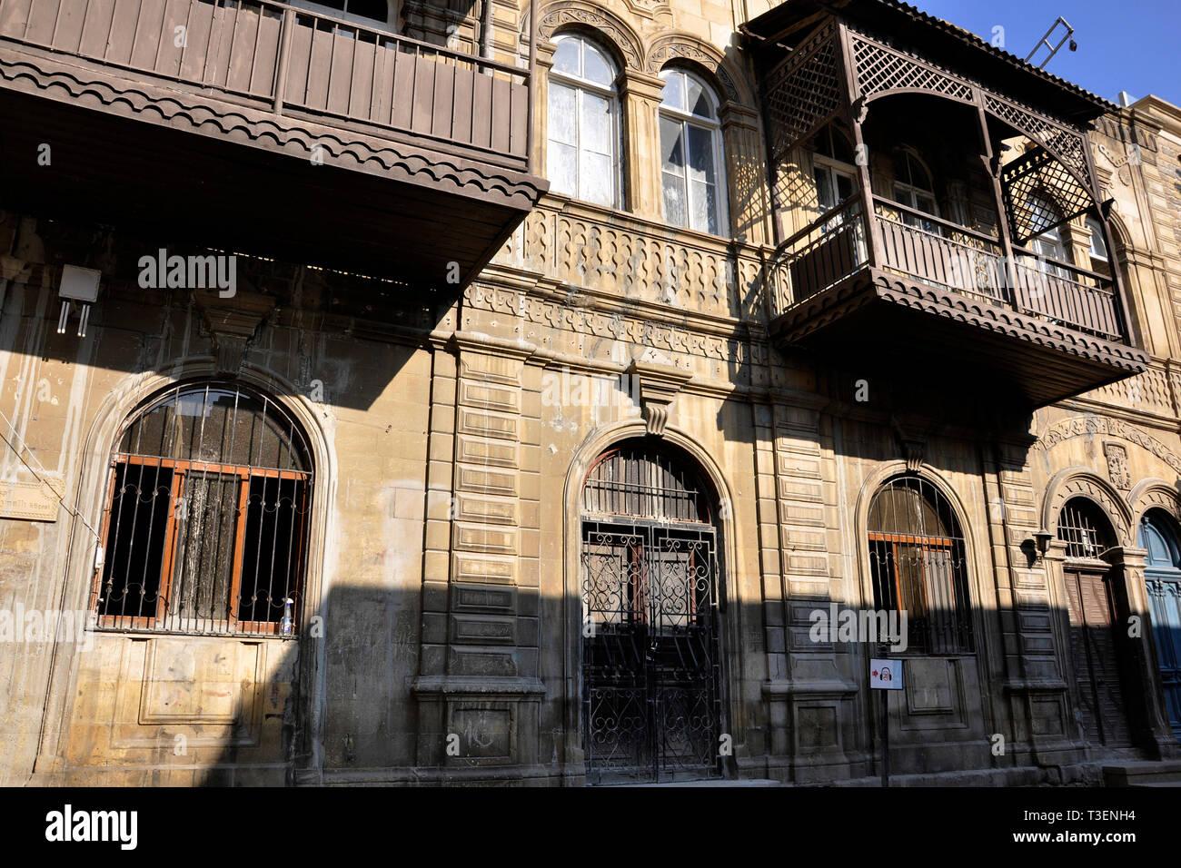 Azerbaijan, Baku, old town - Stock Image