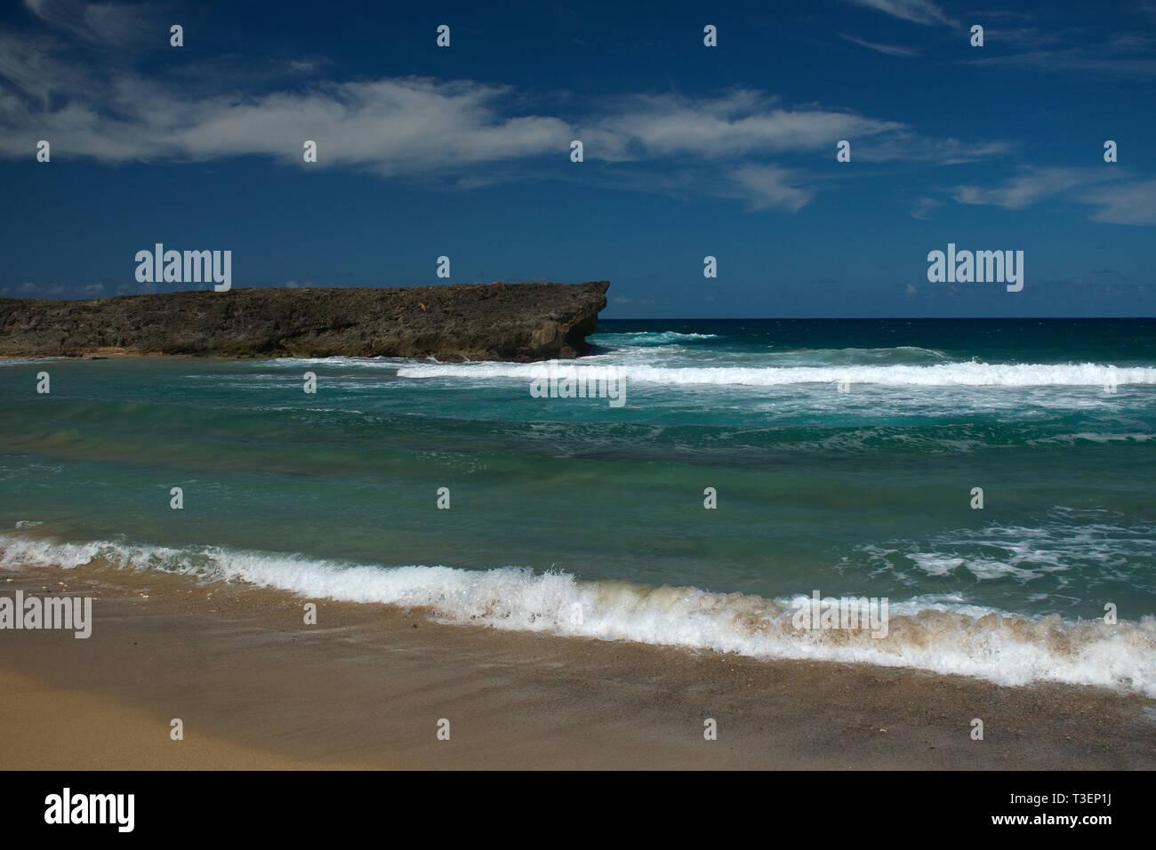 Manati, Puerto Rico Coast - Stock Image