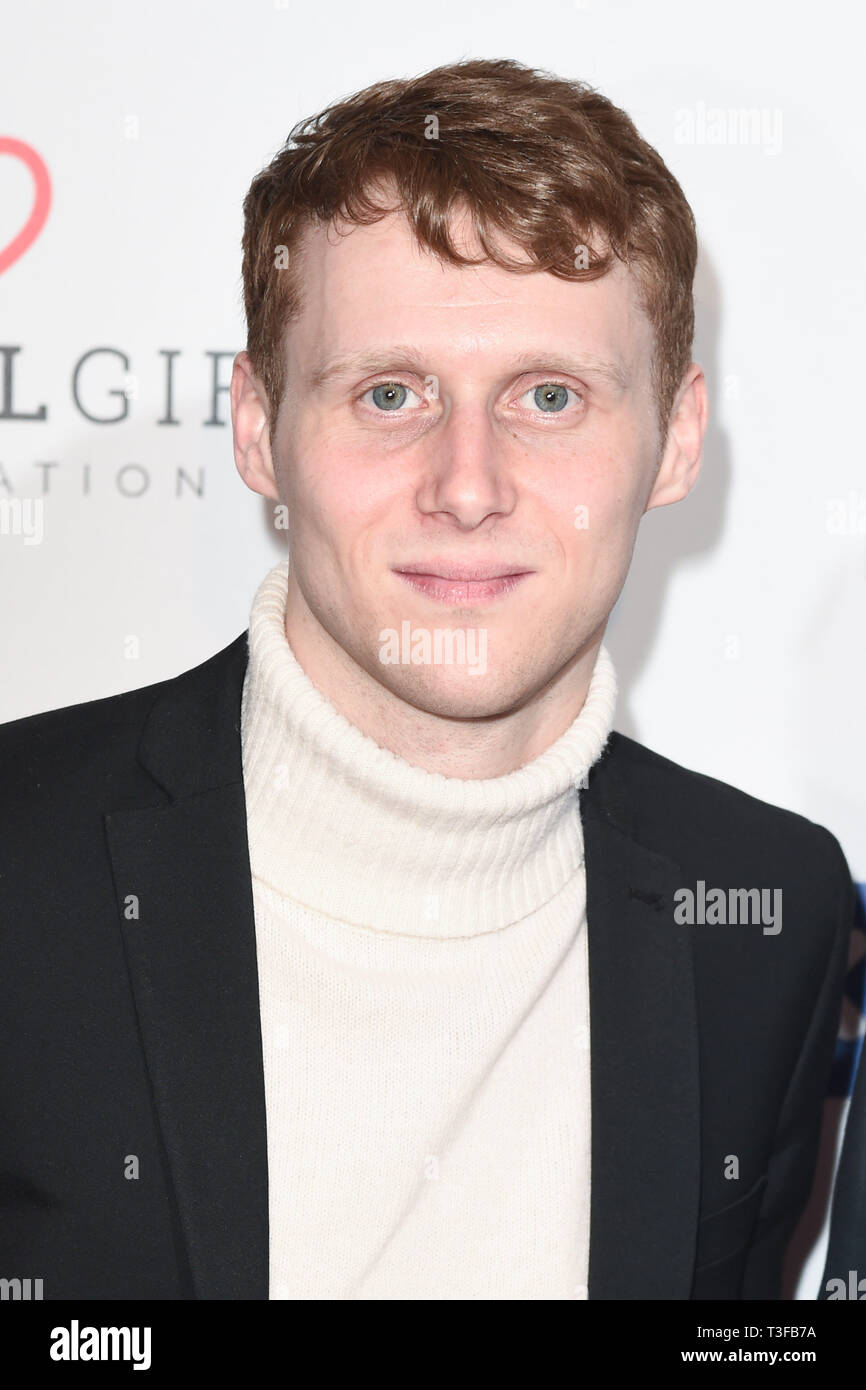 London, UK. 08th Apr, 2019. LONDON, UK. April 08, 2019: Jamie Borthwick arriving for the Football for Peace initiative dinner by Global Gift Foundation at the Corinthia Hotel, London. Picture: Steve Vas/Featureflash Credit: Paul Smith/Alamy Live News Stock Photo