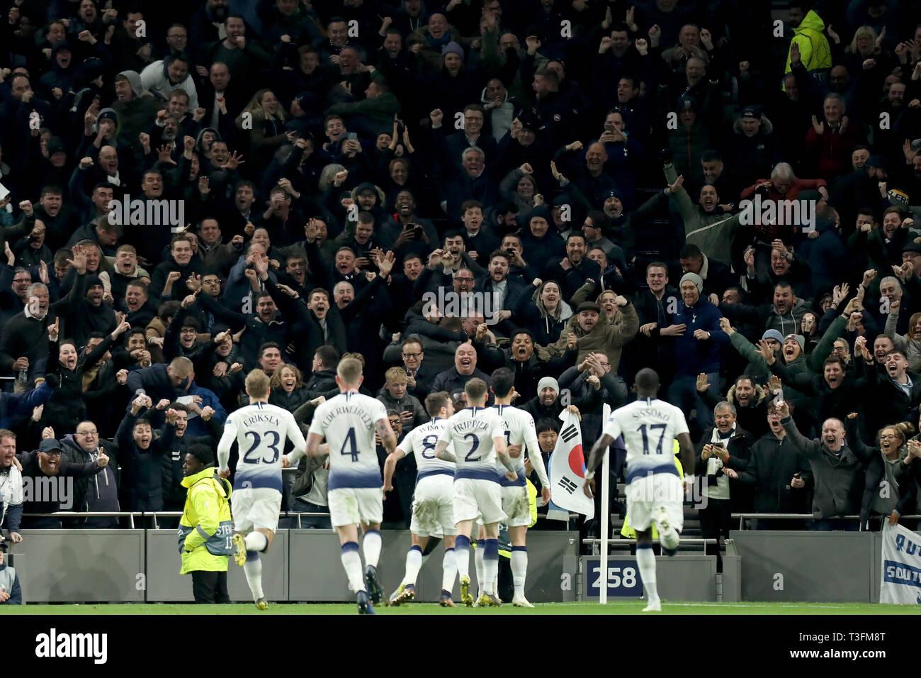 Tottenham Hotspur Stadium London Uk 9th Apr 2019 Uefa Champions League Football Quarter Final 1st Leg
