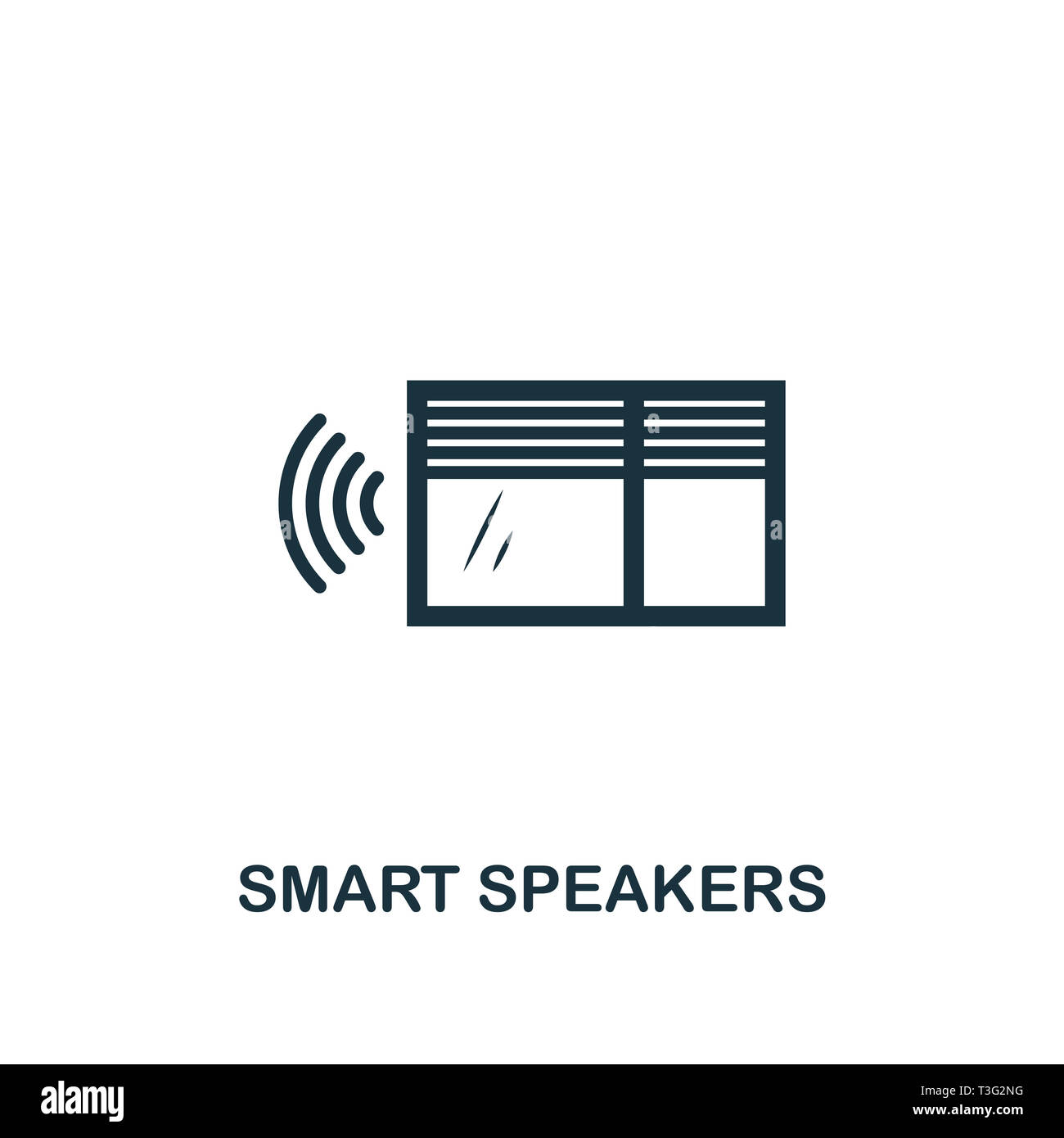 Smart Windows Icon Creative Element Design From Smart Home Icons Collection Pixel Perfect Smart Windows Icon For Web Design Apps Software Print U Stock Photo Alamy