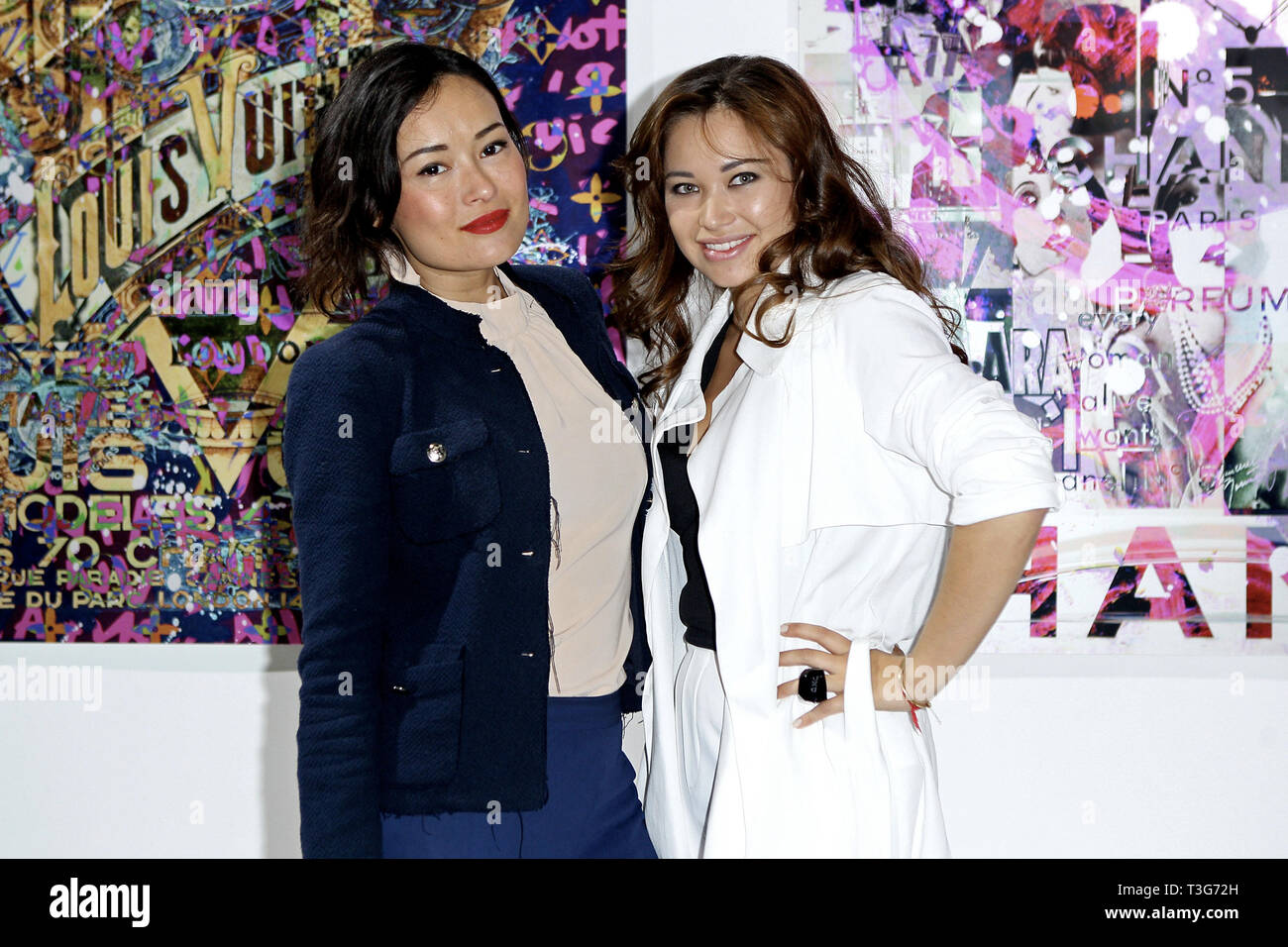 New York, USA. 21 May, 2015.  Kamilla Sun, and, Art Dealer, Sasha Rales at The Opening Night Of 'Paul Gerben: Mind Game' Private Art Event at Space 16 on May 21, 2015 in New York, NY. Credit: Steve Mack/S.D. Mack Pictures/Alamy - Stock Image