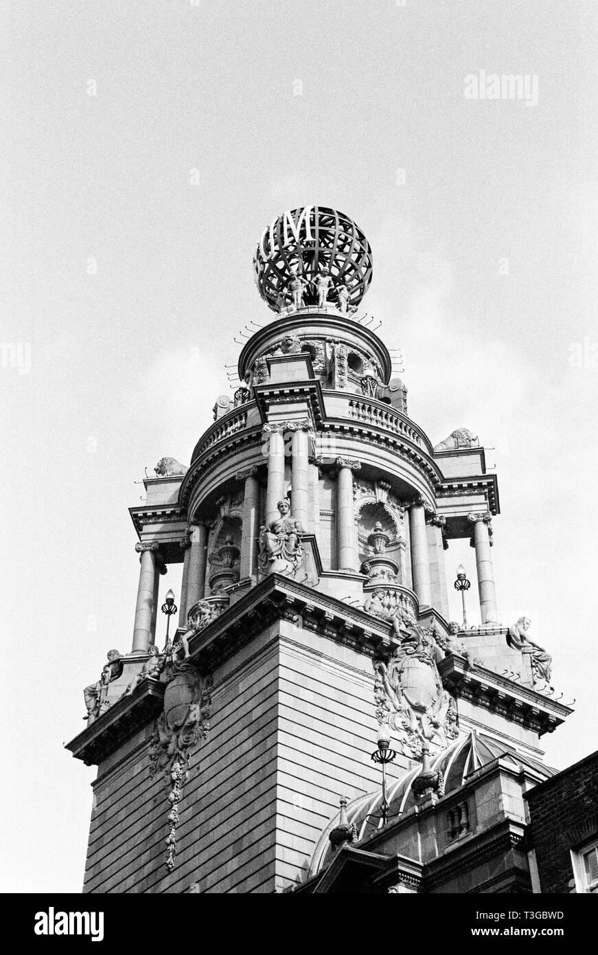 London Coliseum Theatre home of the English National Opera ENO, St Martin's Lane, London, United Kingdom. - Stock Image