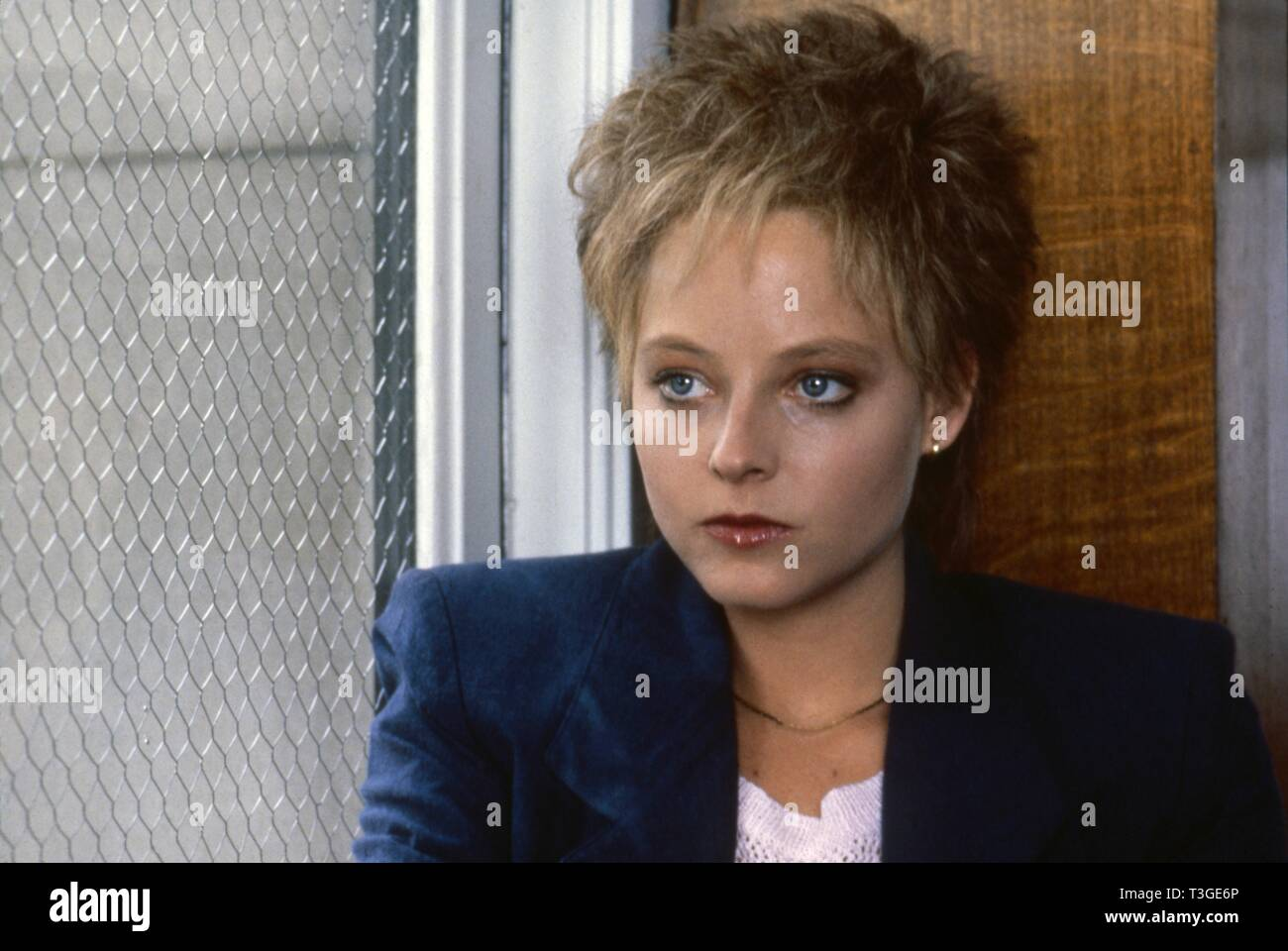 The accused  Year: 1988 USA Jodie Foster  Director : Jonathan Kaplan - Stock Image