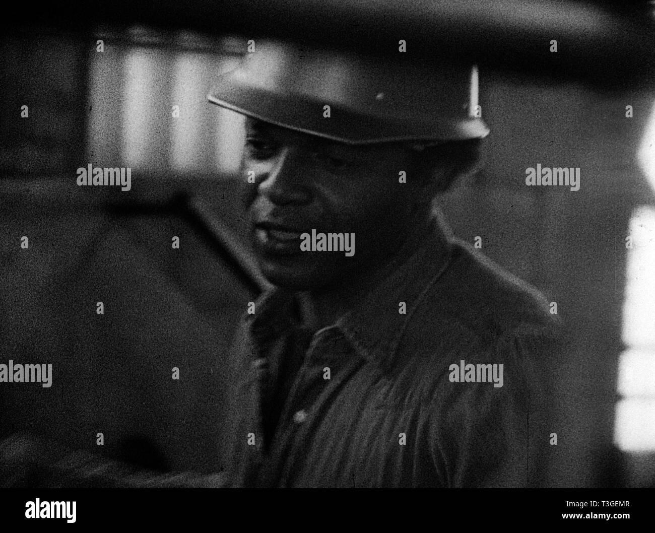 Killer of Sheep  Year  1978 - USA Henry G. Sanders  Director : Charles Burnett - Stock Image