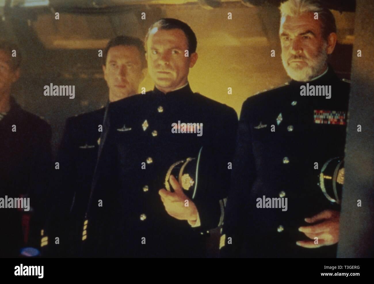 The Hunt for Red October  Year : 1990 USA Director : John McTiernan Scott Glenn, Sam Neill, Sean Connery - Stock Image