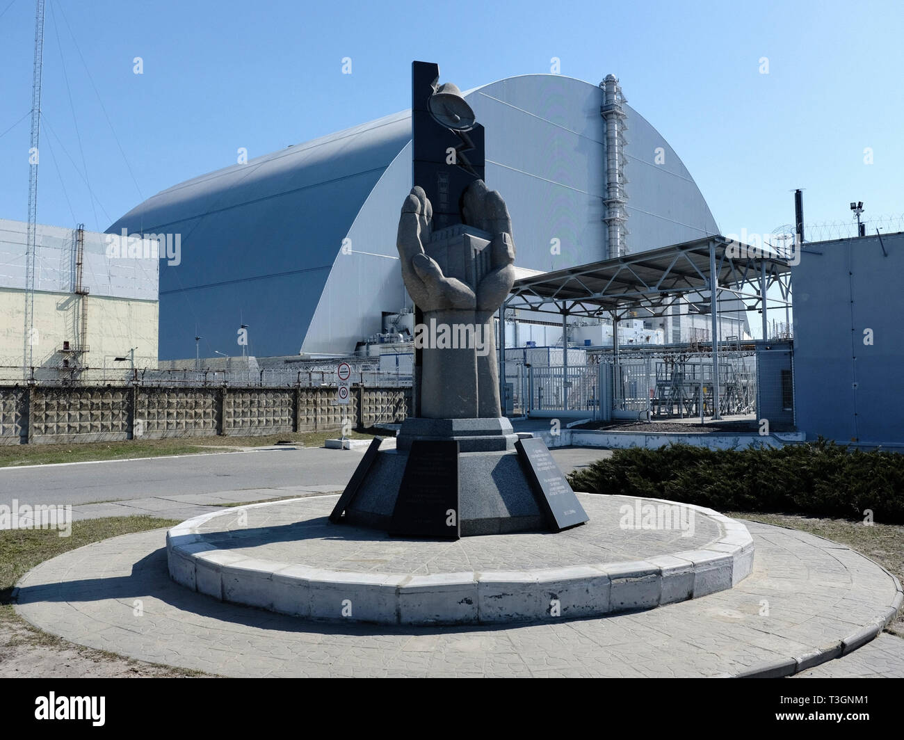 Chernobyl Nuclear Power Plant, April 2019 - Stock Image
