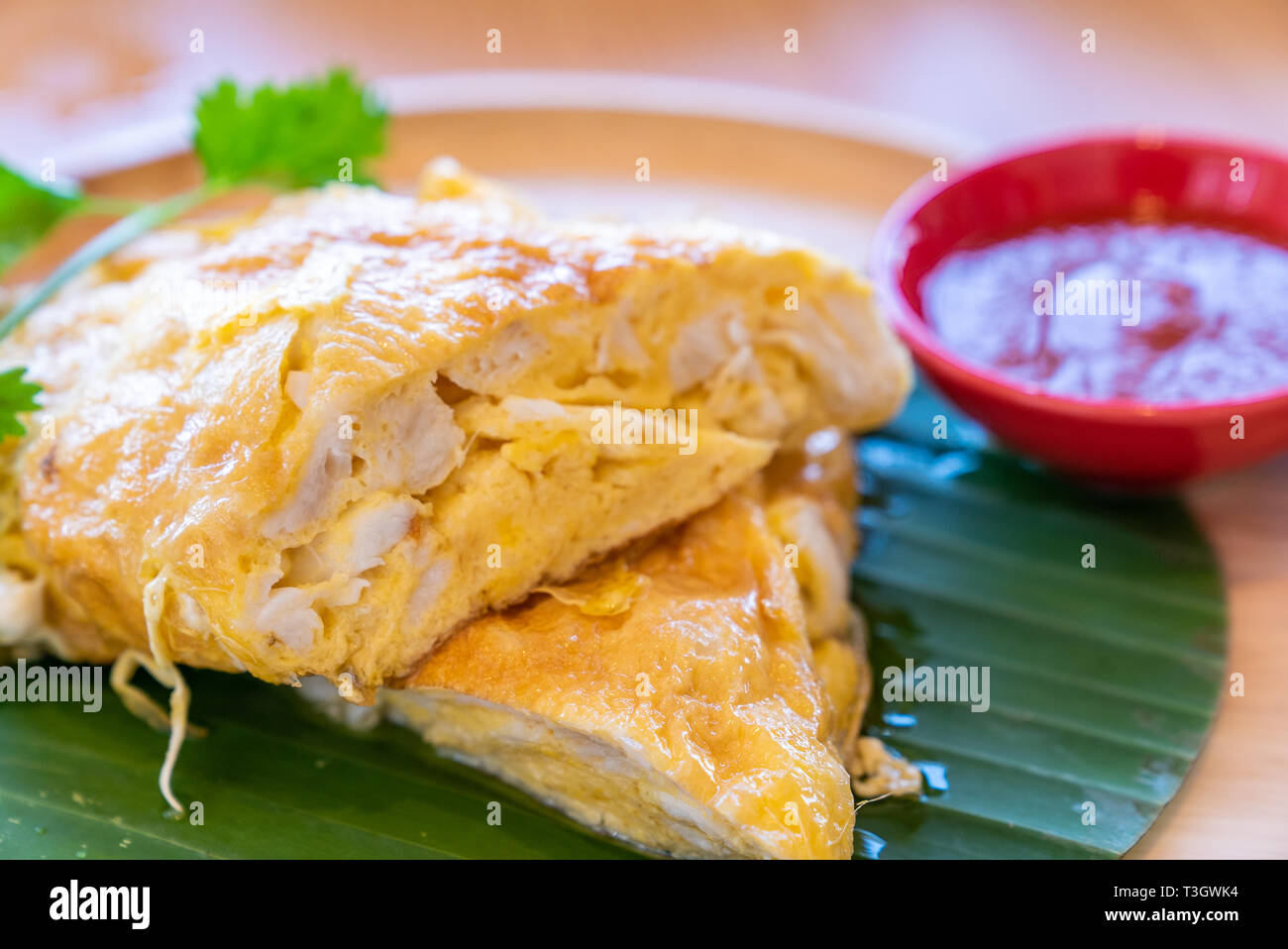 Thai Omelette High Resolution Stock Photography And Images Alamy