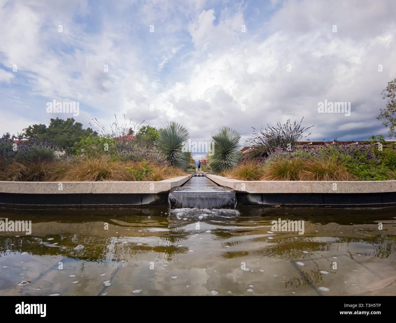 Natural scene around Huntington Library at Los Angeles, California - Stock Image