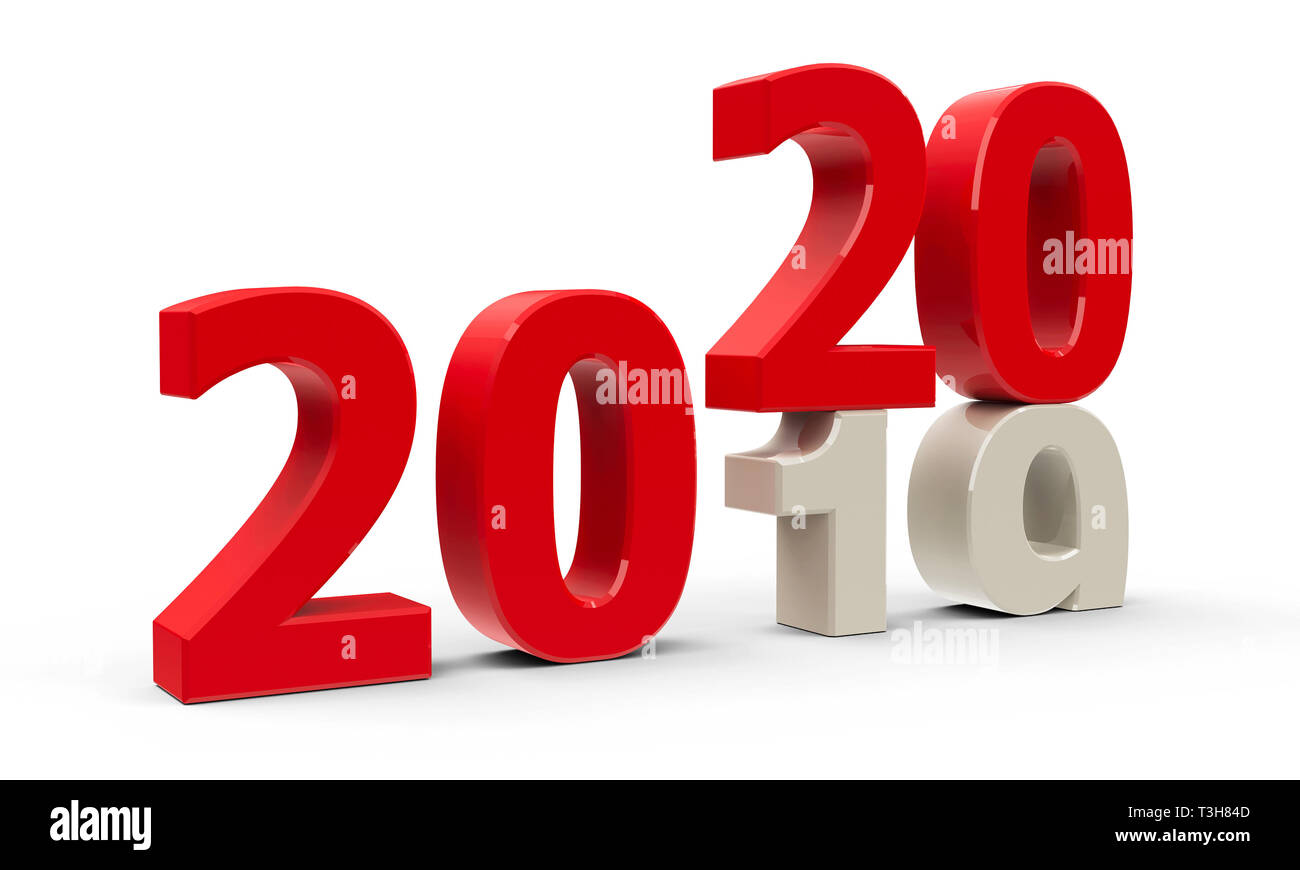 2020.2019 2020 Change Represents The New Year 2020 Three