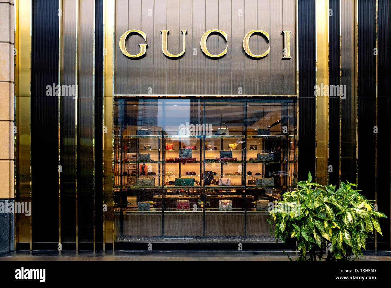 Gucci Store Front Stock Photos \u0026 Gucci Store Front Stock