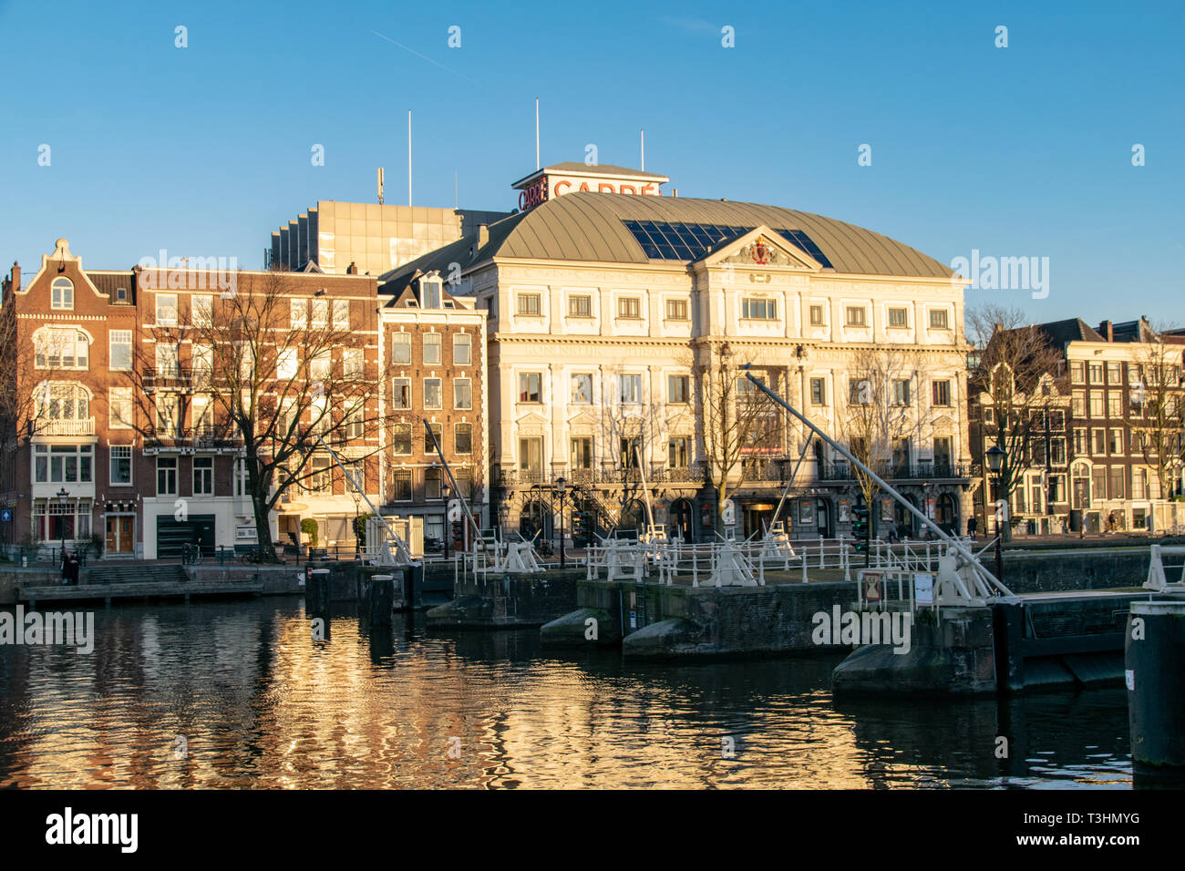 Canals of Amsterdam Stock Photo